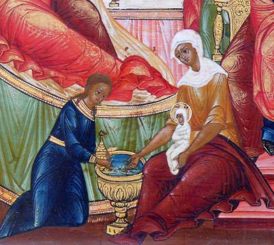 Icon `` Birth of Mary '' - photo 4