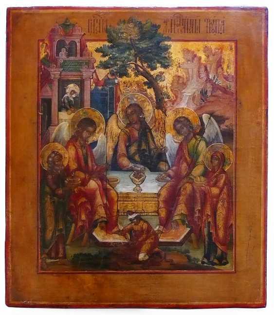 Icon `` Holy Trinity '' - photo 1