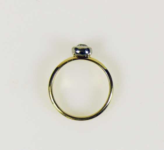 Solitaire diamond ladies ring - photo 3