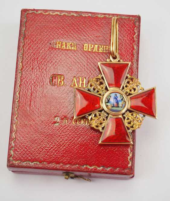 Russia: Order of St. Anne - photo 1