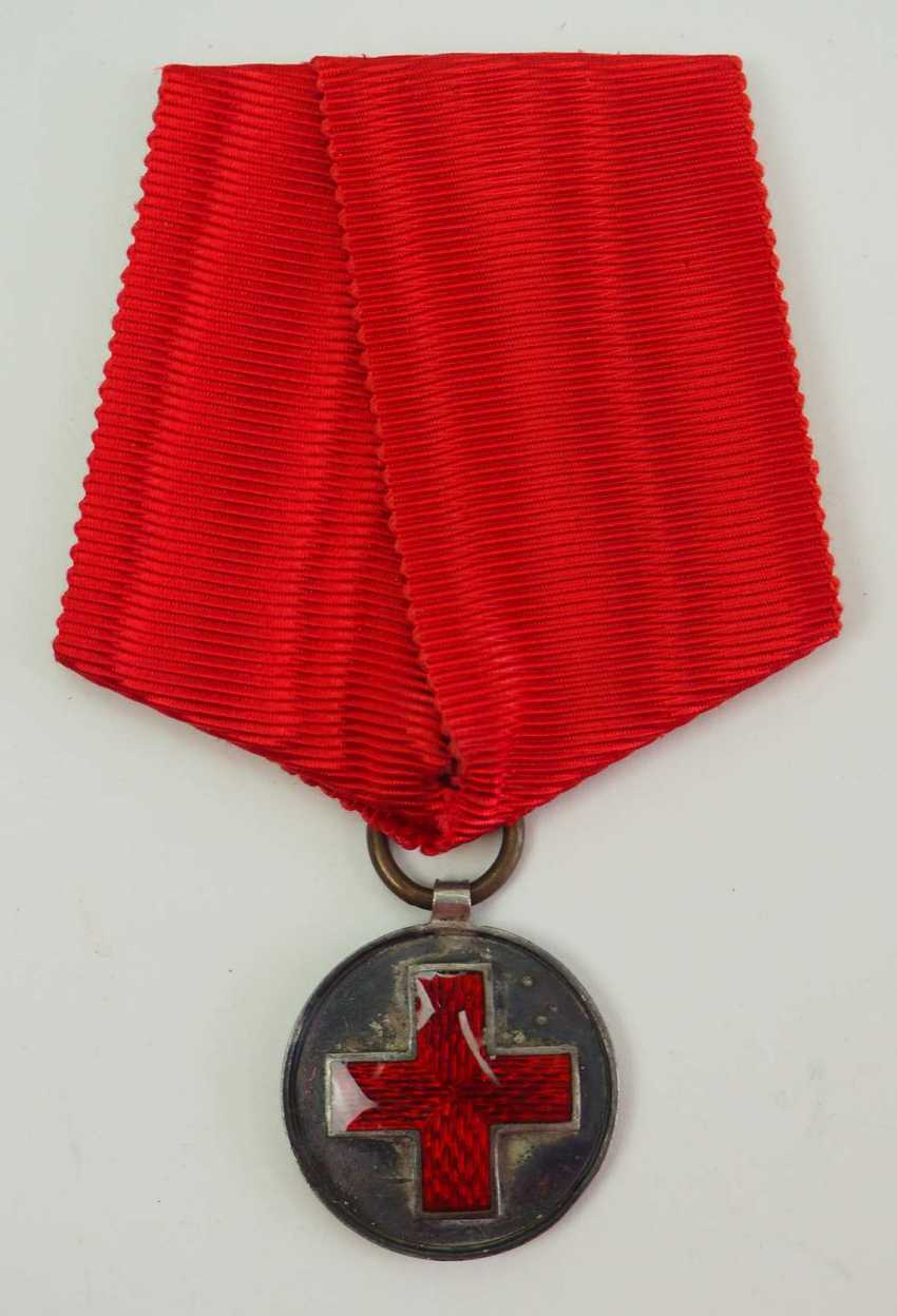 Russia: Red Cross Medal in memory of the Russo-Japanese War 1904-1905. silver - photo 1