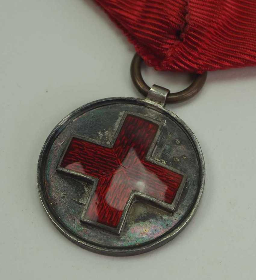 Russia: Red Cross Medal in memory of the Russo-Japanese War 1904-1905. silver - photo 2