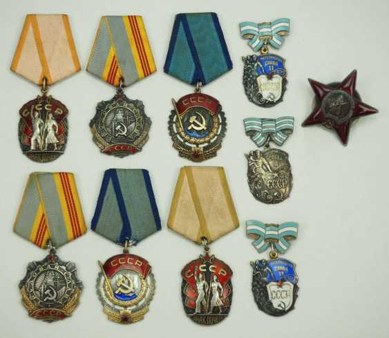 Soviet Union: Lot of 10 medals. Various - photo 1