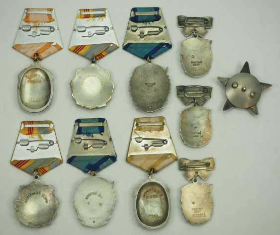 Soviet Union: Lot of 10 medals. Various - photo 2