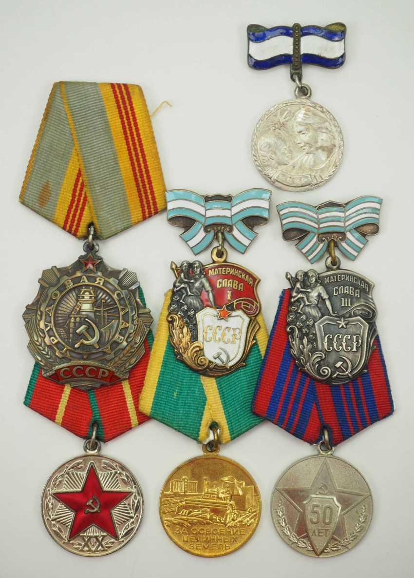 Soviet Union: Lot of awards. Various. Condition: II - photo 1