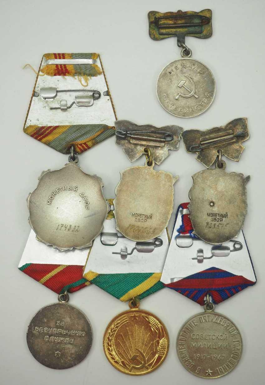 Soviet Union: Lot of awards. Various. Condition: II - photo 2