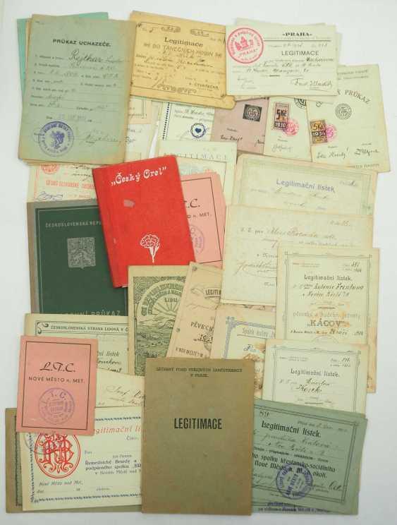 Czech Republic: Lot of ID cards. Treasure trove. Condition: II - photo 1