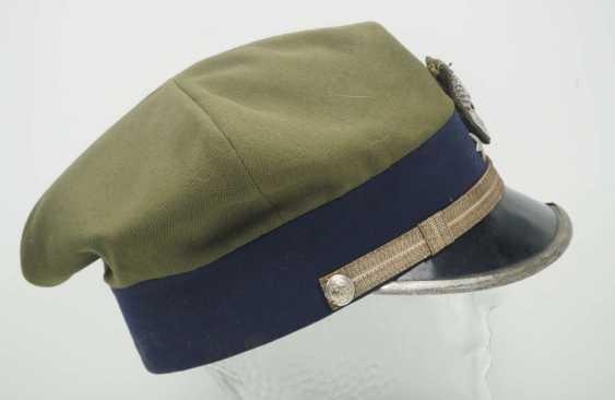 Poland: a sub-lieutenant's peaked cap. Ocher colored cloth - photo 2