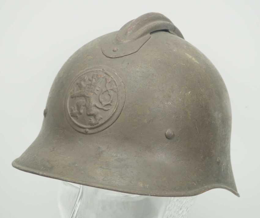 Czechoslovakia: steel helmet. Bell based on the French model - photo 1
