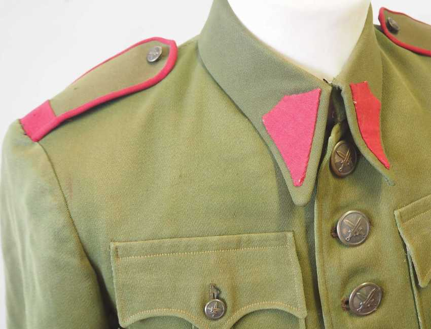 Czechoslovakia: Uniform jacket of a non-commissioned officer (1930-39). Olive green cloth - photo 2