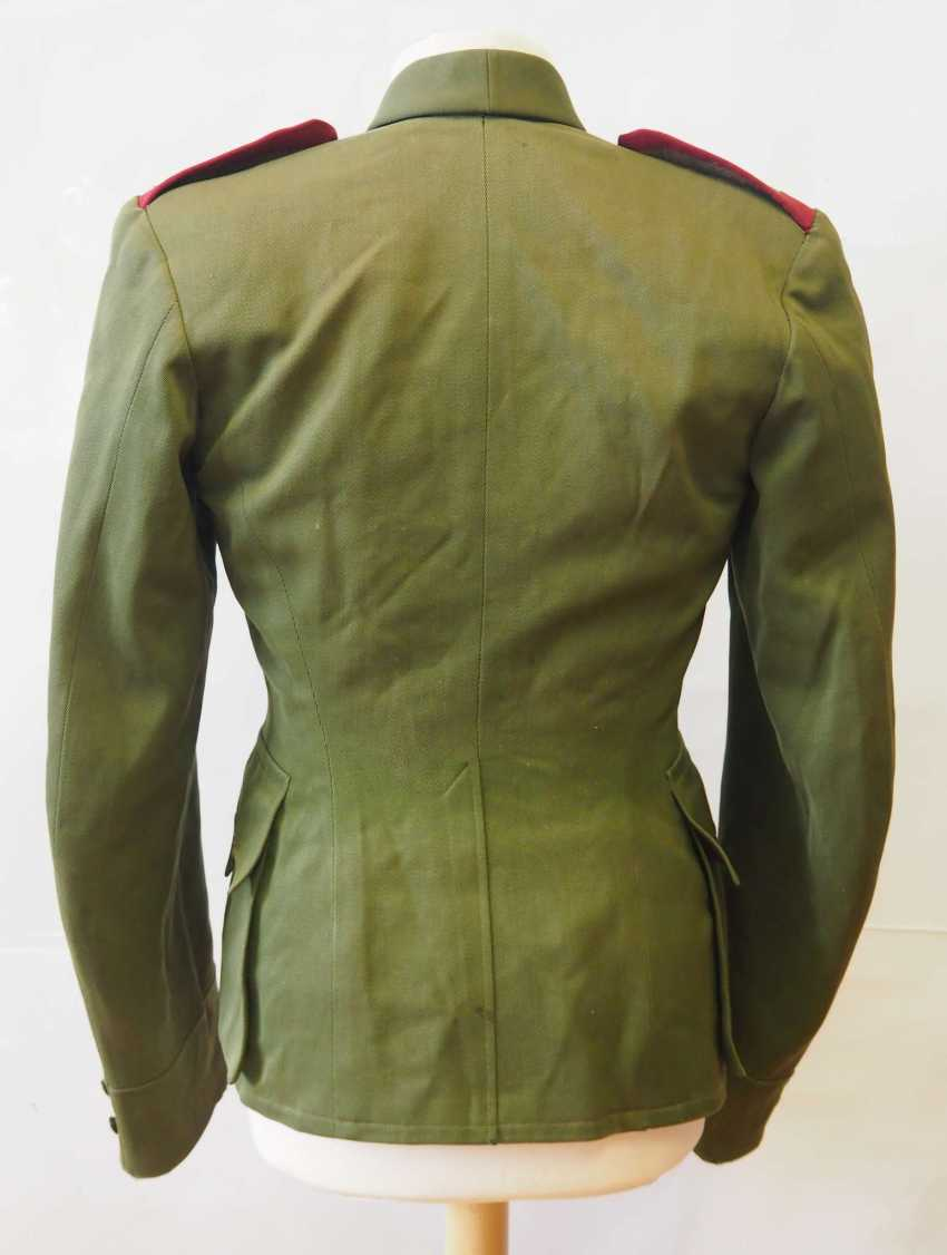 Czechoslovakia: Uniform jacket of a non-commissioned officer (1930-39). Olive green cloth - photo 3