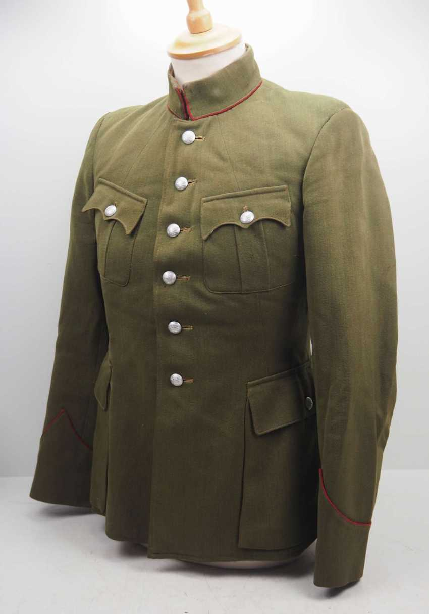 Russia: Uniform jacket of an infantry officer. Fine green cloth - photo 2