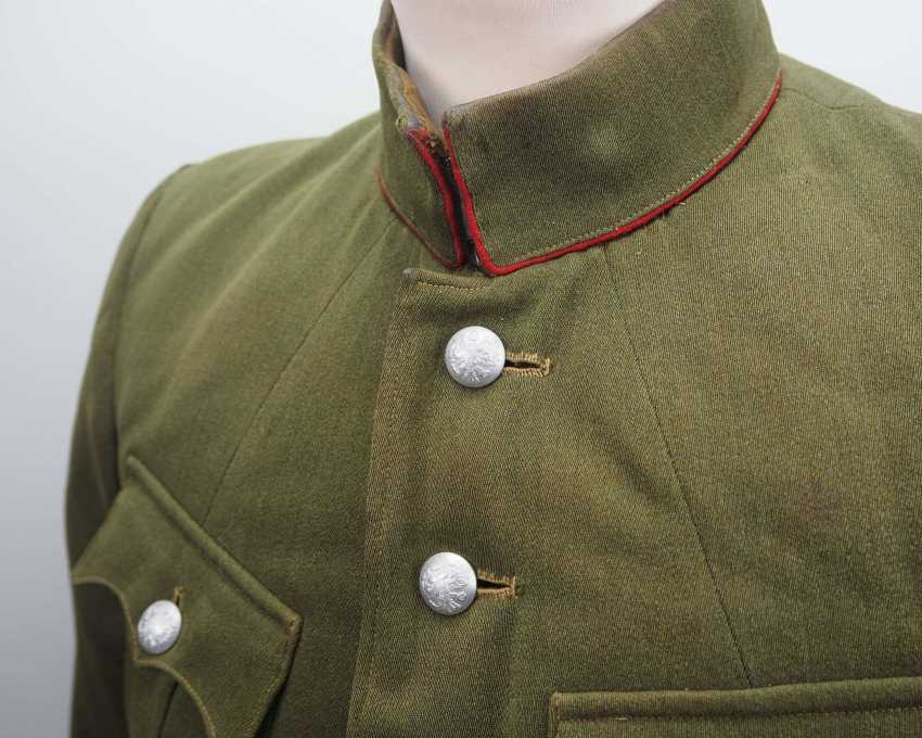 Russia: Uniform jacket of an infantry officer. Fine green cloth - photo 3
