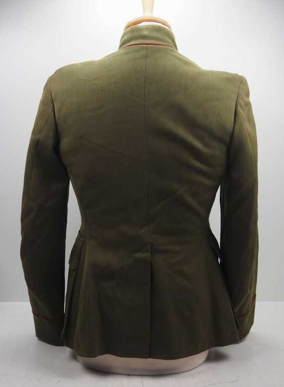 Russia: Uniform jacket of an infantry officer. Fine green cloth - photo 4