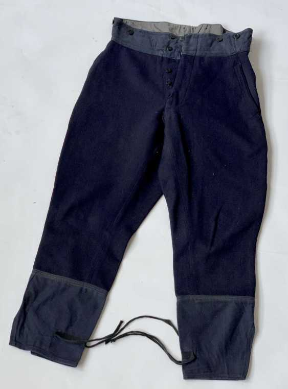 Russia: Boot Pants - Chamber Piece. Blue cloth - photo 1