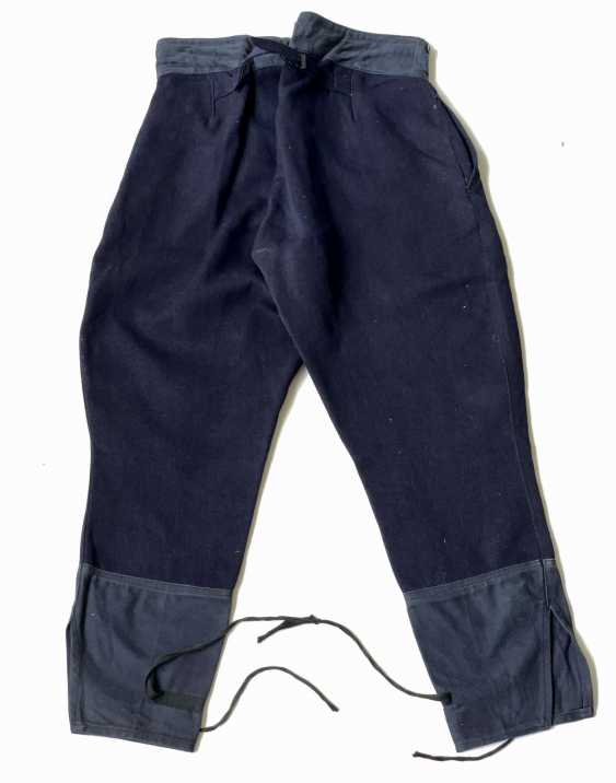 Russia: Boot Pants - Chamber Piece. Blue cloth - photo 2