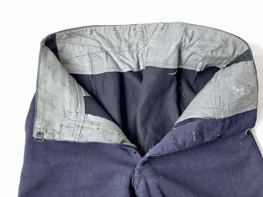 Russia: Boot Pants - Chamber Piece. Blue cloth - photo 3