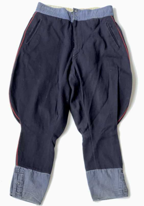 Russia: boot pants. Dark blue cloth - photo 1