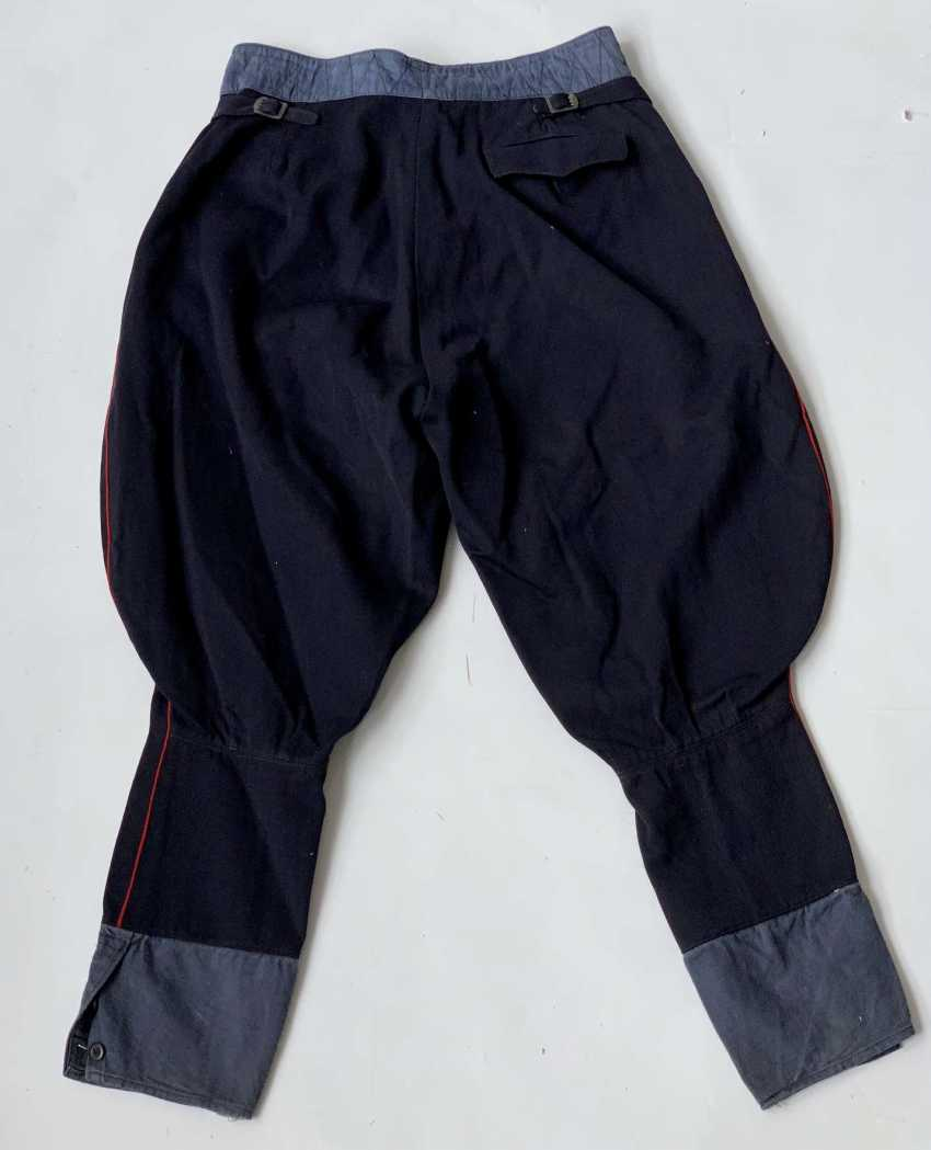 Russia: boot pants. Dark blue cloth - photo 2