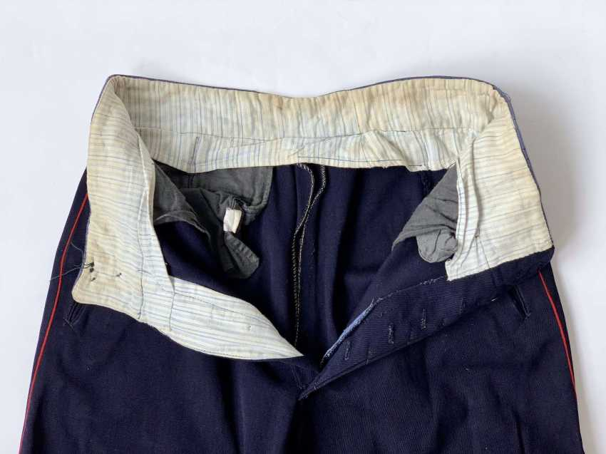 Russia: boot pants. Dark blue cloth - photo 3