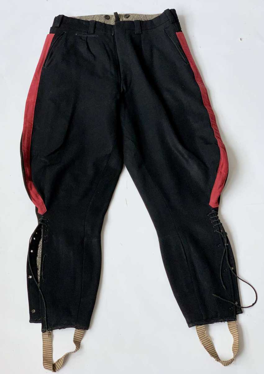 Russia: boot pants. Black cloth - photo 1