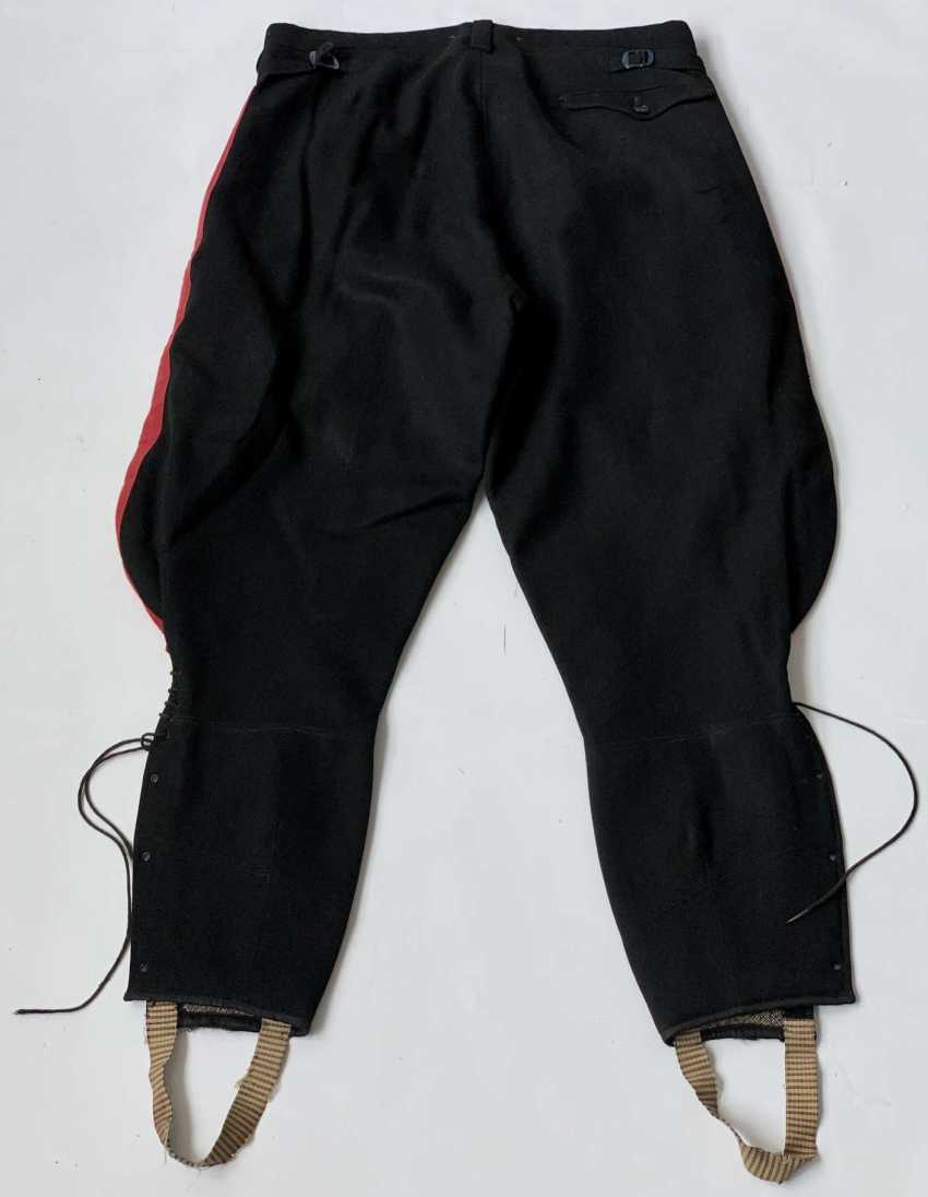 Russia: boot pants. Black cloth - photo 2