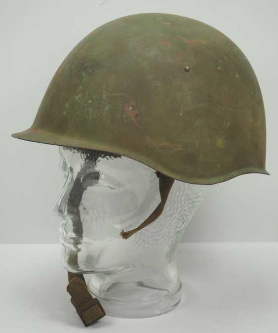 Soviet Union: steel helmet SSh39 - 1940. Olive green bell - photo 1
