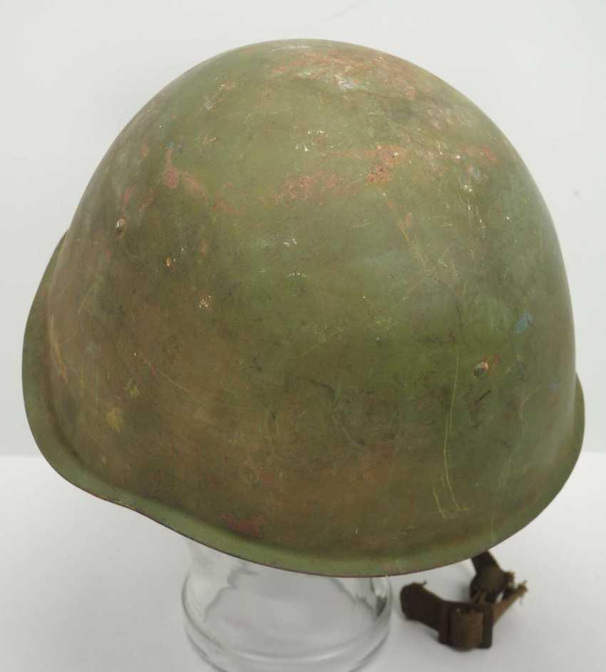 Soviet Union: steel helmet SSh39 - 1940. Olive green bell - photo 4