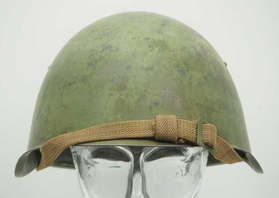 Soviet Union: SSh39 steel helmet. Olive green bell - photo 2