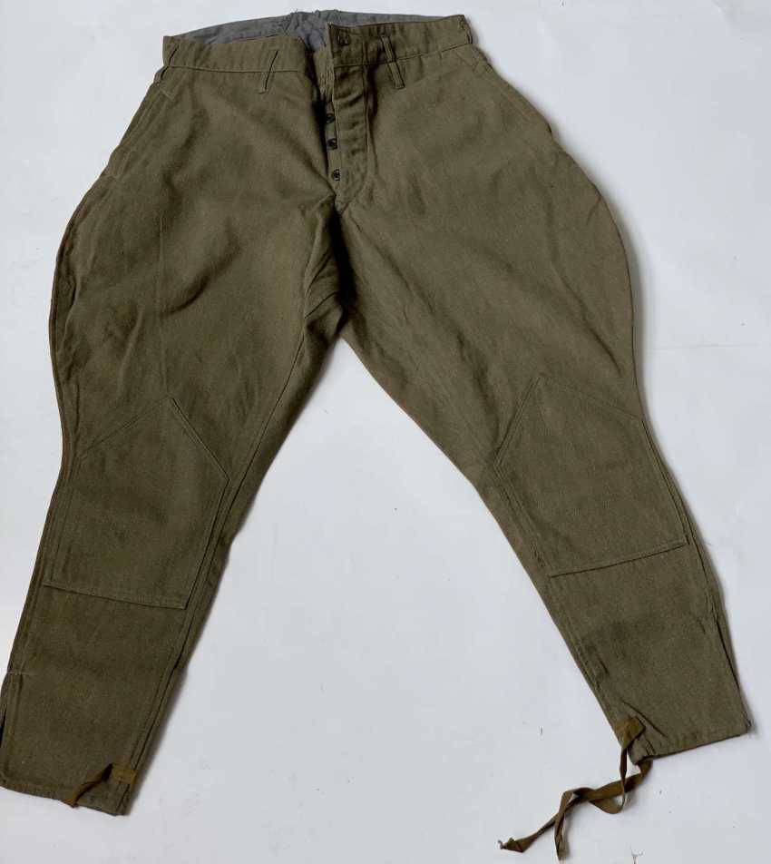 Soviet Union: boot pants. Earth-colored cloth - photo 1