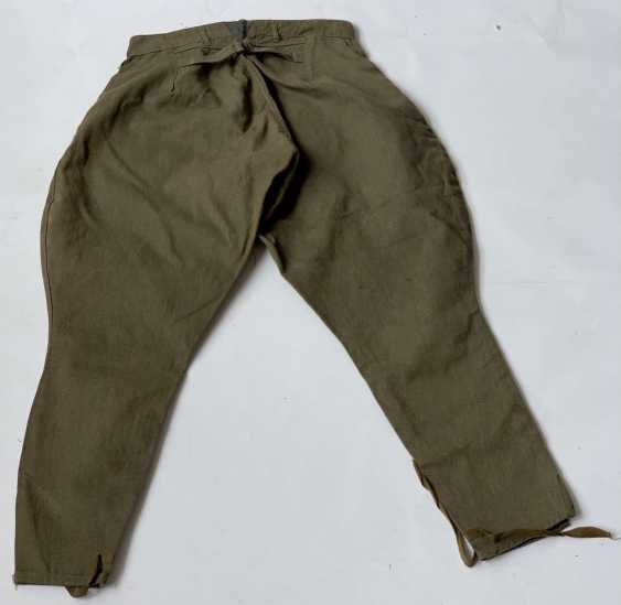 Soviet Union: boot pants. Earth-colored cloth - photo 2