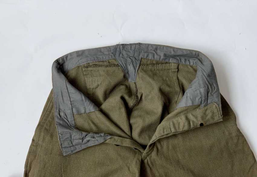 Soviet Union: boot pants. Earth-colored cloth - photo 3