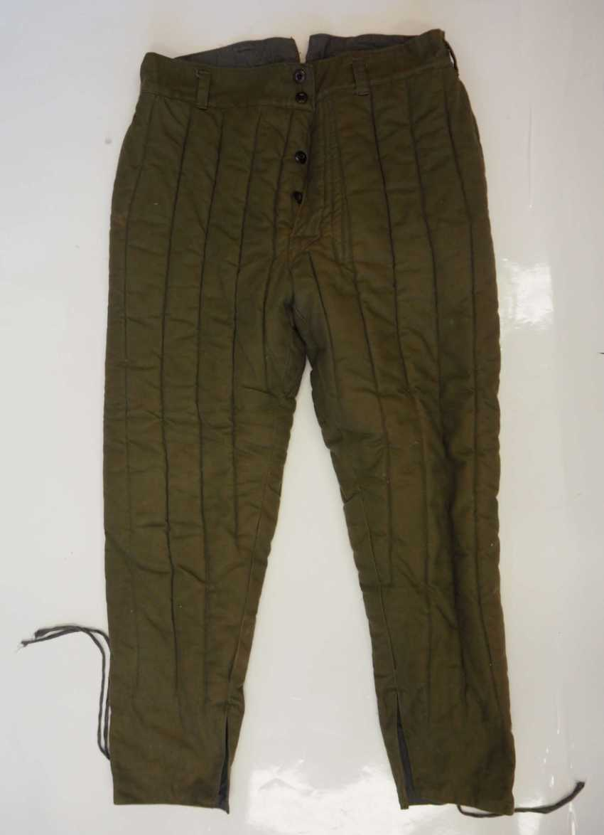 Soviet Union: Telogreika pants. Ocher colored cloth - photo 1