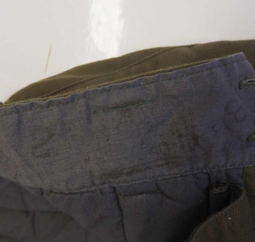 Soviet Union: Telogreika pants. Ocher colored cloth - photo 2