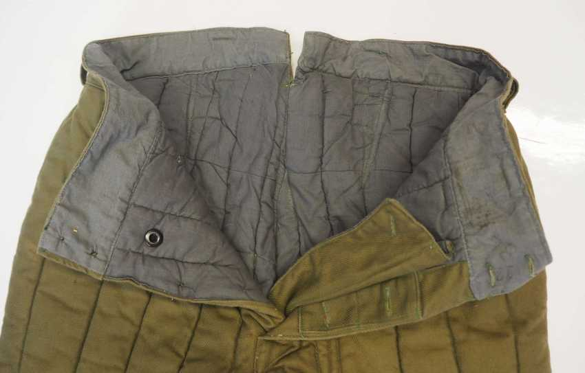 Soviet Union: Telogreika pants. Ocher colored cloth - photo 3