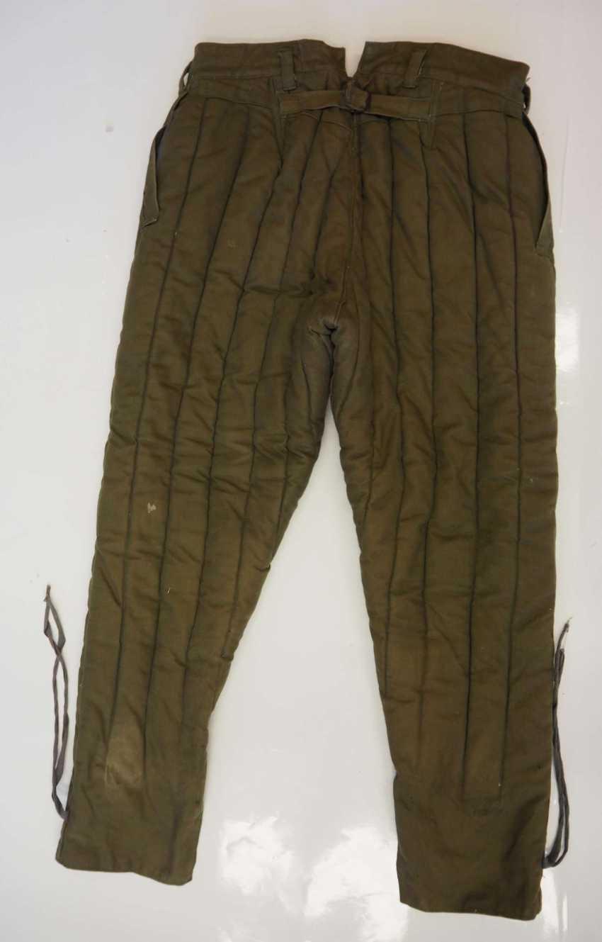 Soviet Union: Telogreika pants. Ocher colored cloth - photo 4