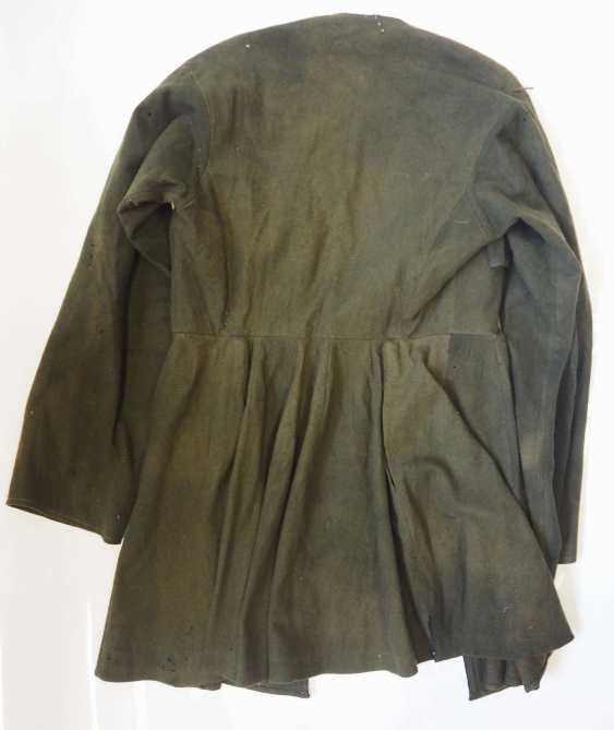 Caucasian: Cherkeska. Dark green cloth - photo 4