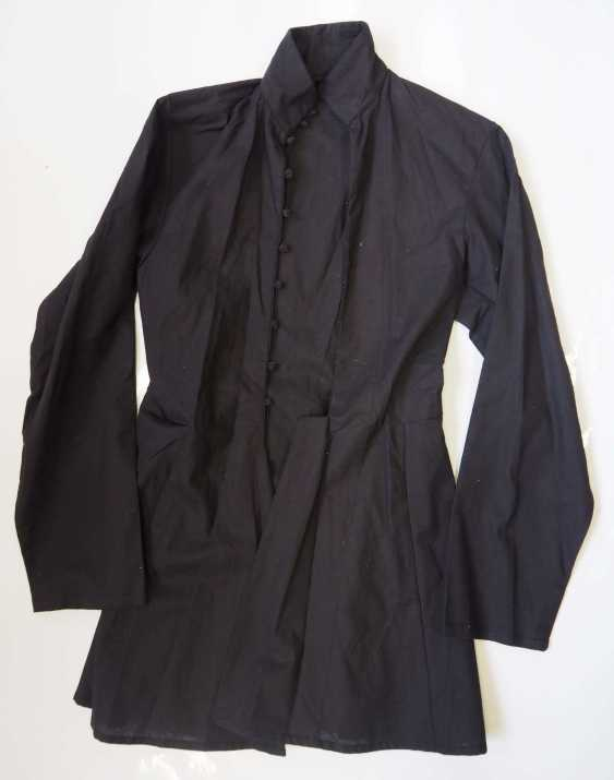 Caucasian: Gymnastjorka. Thin black linen - photo 1