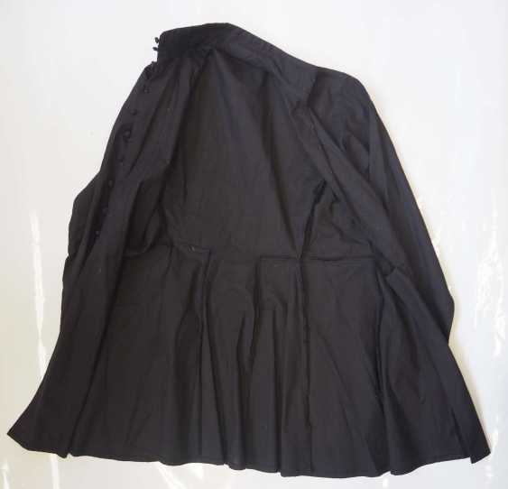 Caucasian: Gymnastjorka. Thin black linen - photo 2
