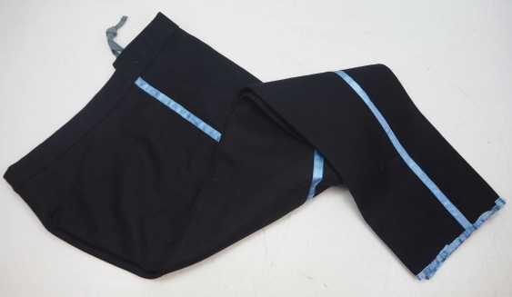 Caucasian: Uniform pants. Black cloth - photo 1