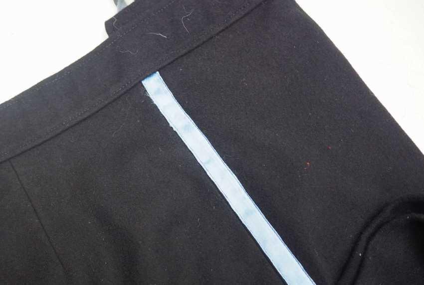 Caucasian: Uniform pants. Black cloth - photo 2