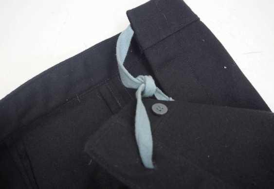 Caucasian: Uniform pants. Black cloth - photo 3