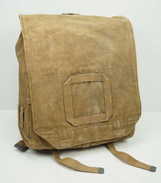 Poland: Knapsack 1938. Ocher colored fabric - photo 1