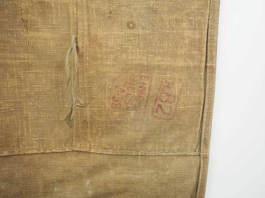 Poland: Knapsack 1938. Ocher colored fabric - photo 2
