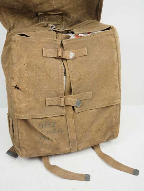Poland: Knapsack 1938. Ocher colored fabric - photo 3