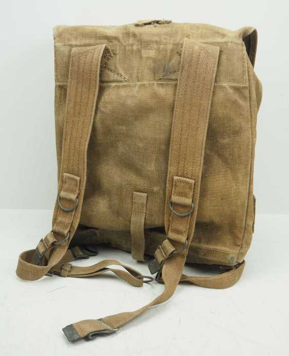 Poland: Knapsack 1938. Ocher colored fabric - photo 4