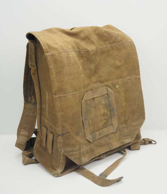 Poland: knapsack. Ocher colored fabric - photo 1