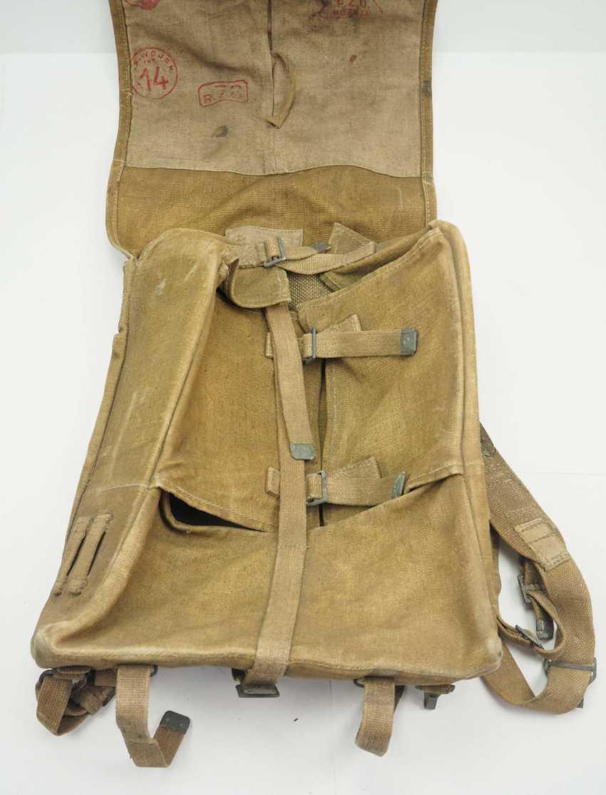 Poland: knapsack. Ocher colored fabric - photo 2