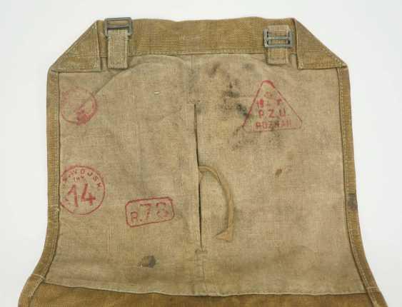 Poland: knapsack. Ocher colored fabric - photo 3
