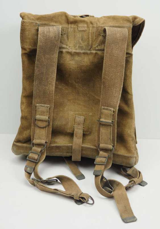 Poland: knapsack. Ocher colored fabric - photo 4